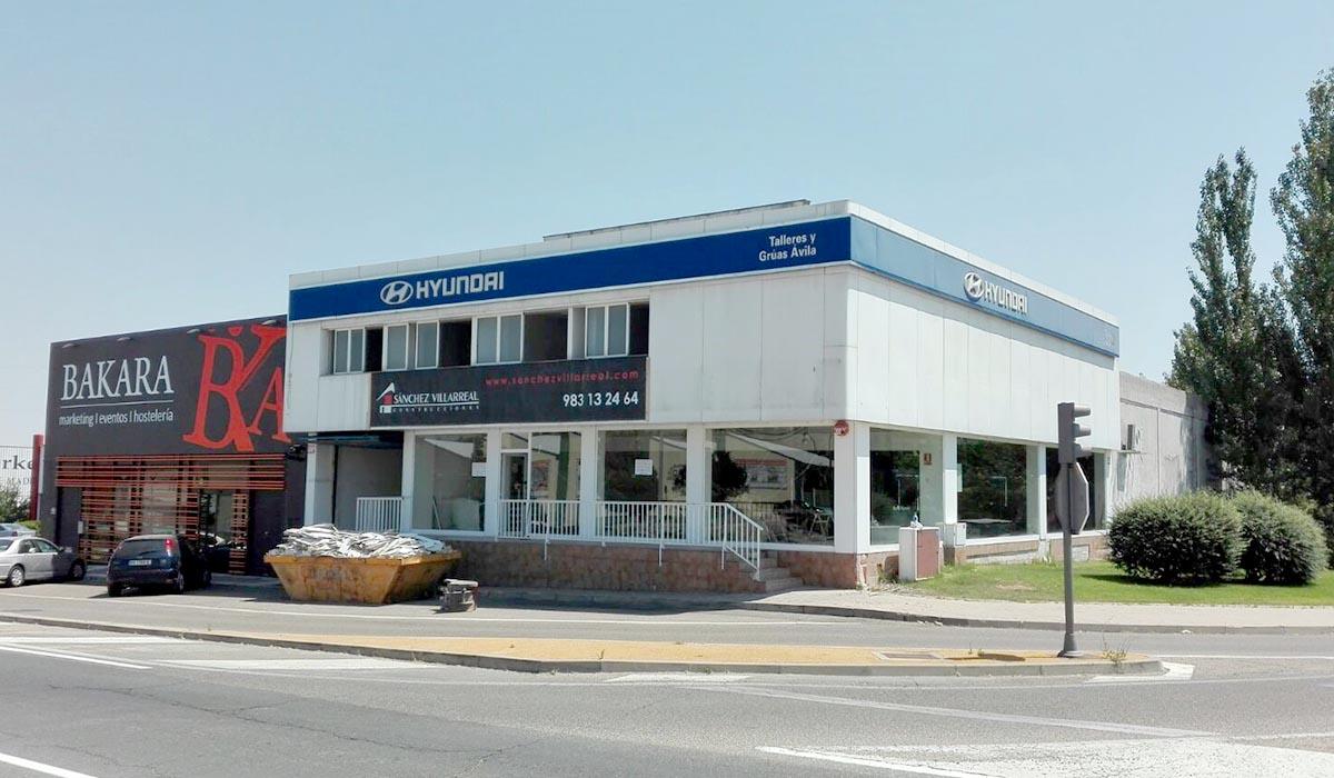 concesionario-antes-reforma-Hyundai-Valladolid