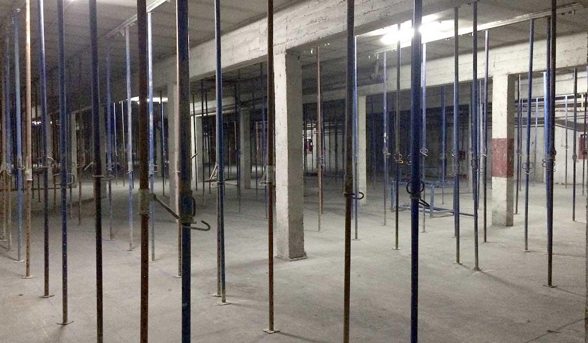 garaje-apuntalado-inicio-obra-rehabilitacion