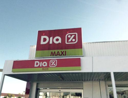 Reforma y Nueva Imagen en Supermercado DIA