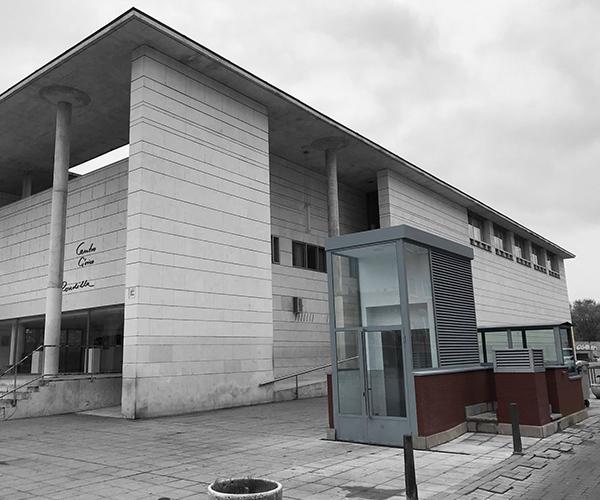Instalacion nuevo ascensor parking Alberto Fernandez obra terminada