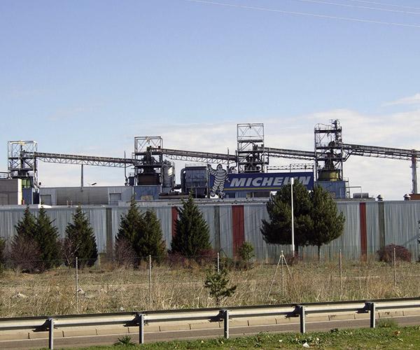 Obras mantenimiento fabricas MICHELIN industria