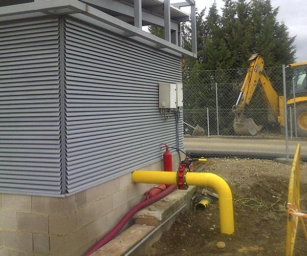 Rehabilitacion casa gas campofrio industria