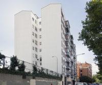 Rehabilitacion de la fachada del edificio en la ciudad de Valladolid